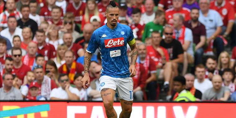 Hamsik 512 presenze in azzurro