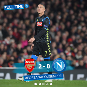 Arsenal-Napoli