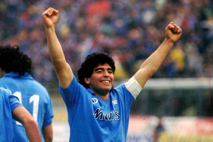 Il primo successo di Maradona